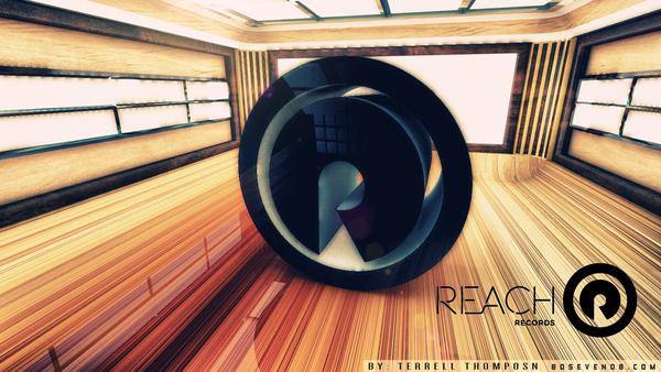 Reach Records 3D Logo Wallpaper on Behance 600x338