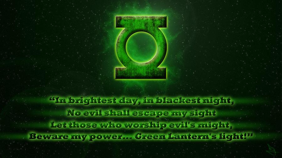 Green Lantern Oath Update by lycanshinobi 900x506