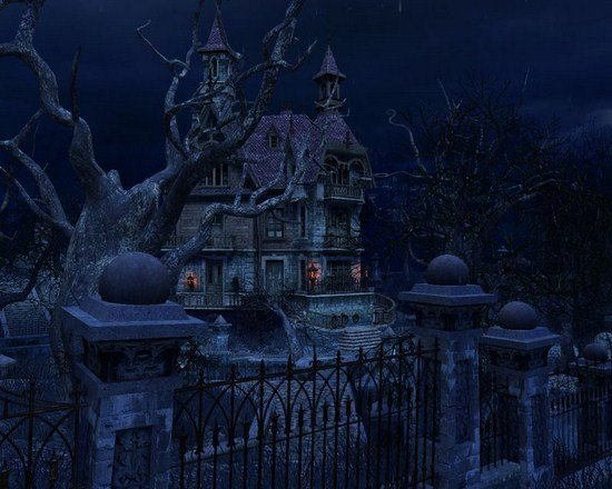 haunted house 3d screensaver download and review haunted house 3d 550x440