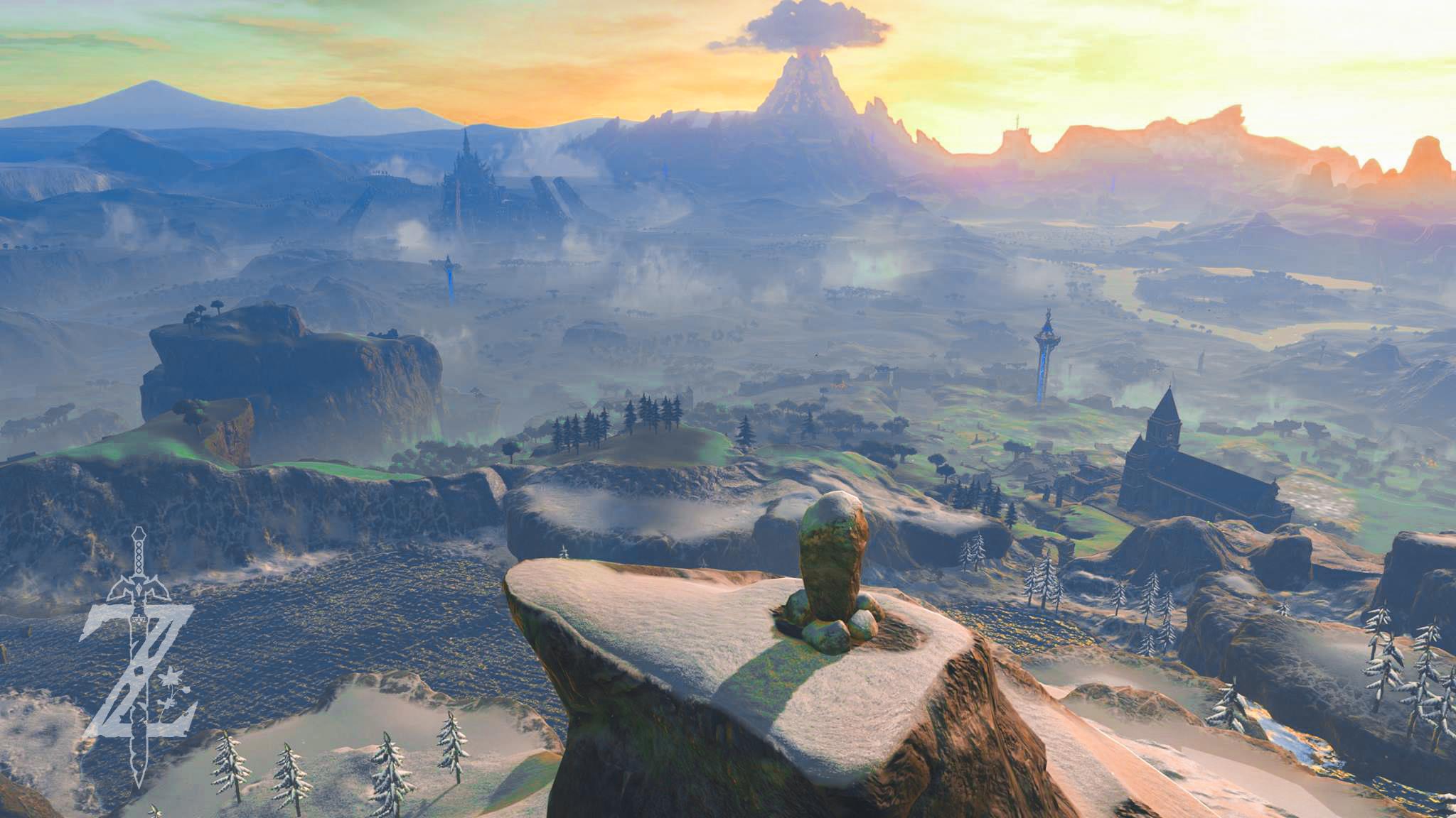 Zelda Breath Of The Wild Wallpapers Wallpapersafari