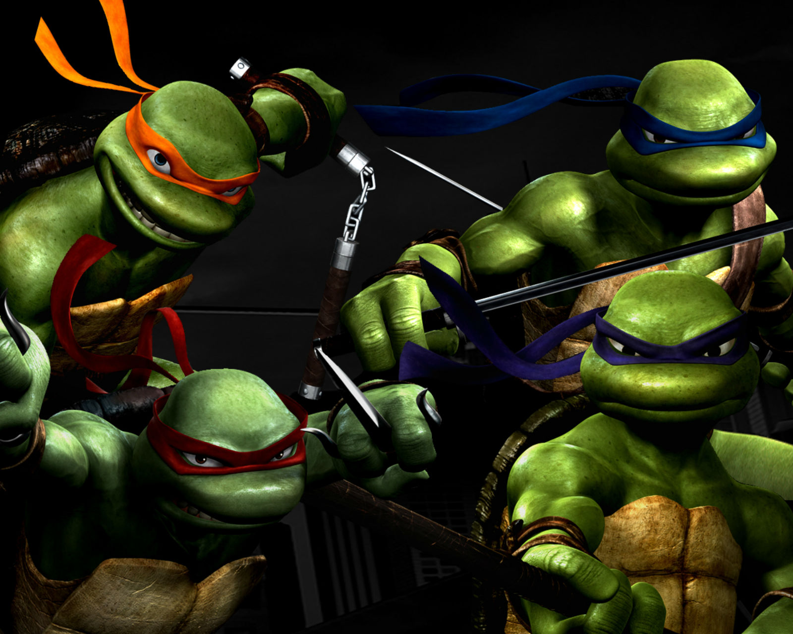 Ninja turtles screensavers and wallpapers wallpapersafari - Ninja turtles wallpaper ...