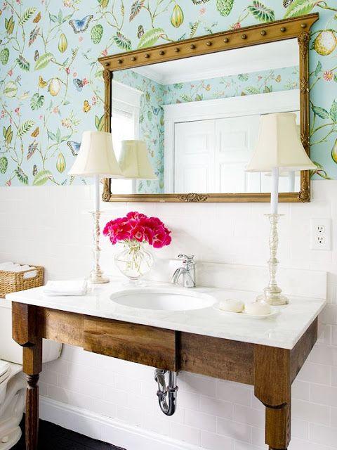 Daly Designs Wallpaper at its Best Bathroom Pinterest 480x640