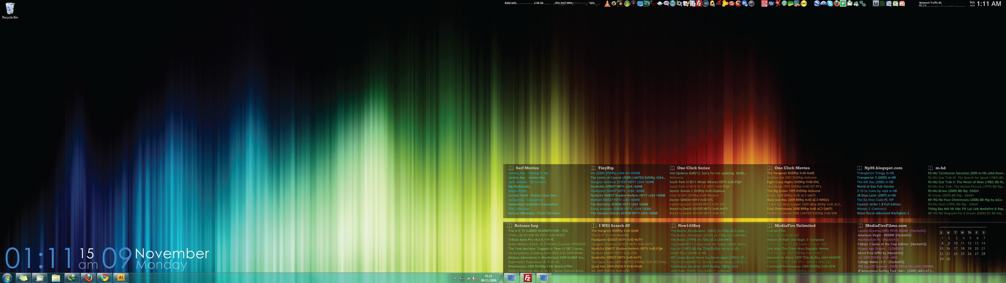 bengatleydeviantartcomartDual Screen Desktop Windows 7 142989272 3840x1080