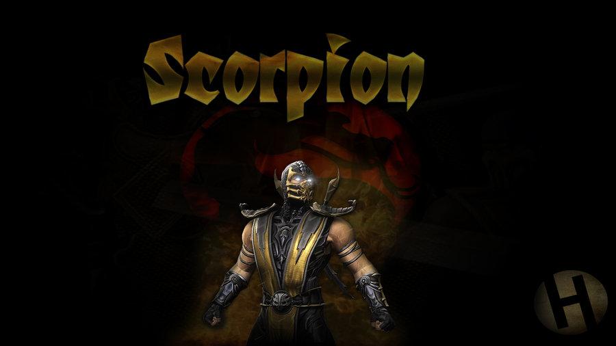 Wallpaper] Scorpion   Mortal Kombat by GFXHess 900x506
