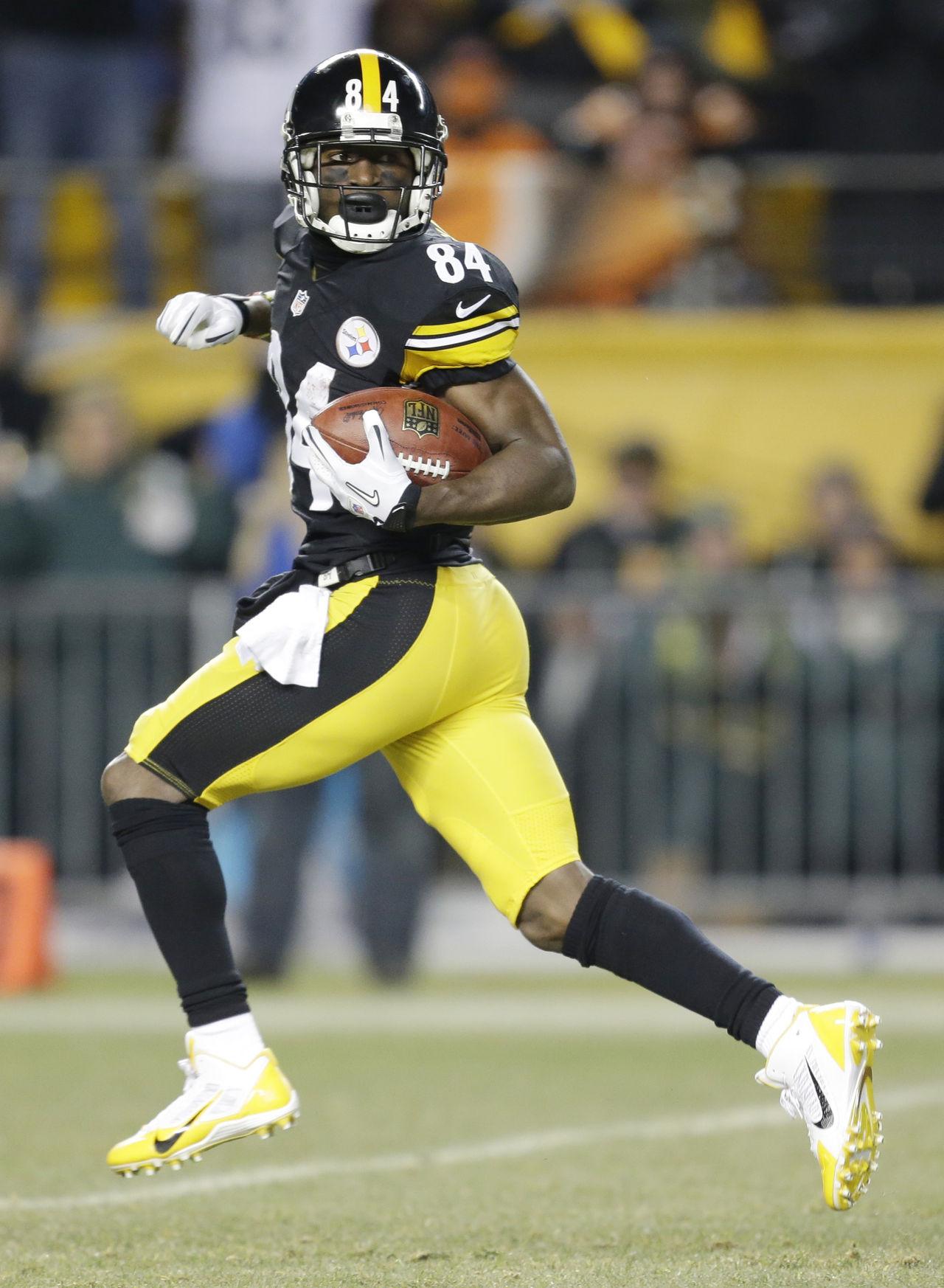 Pittsburgh Steelers Antonio Brown Wallpaper Wallpapersafari