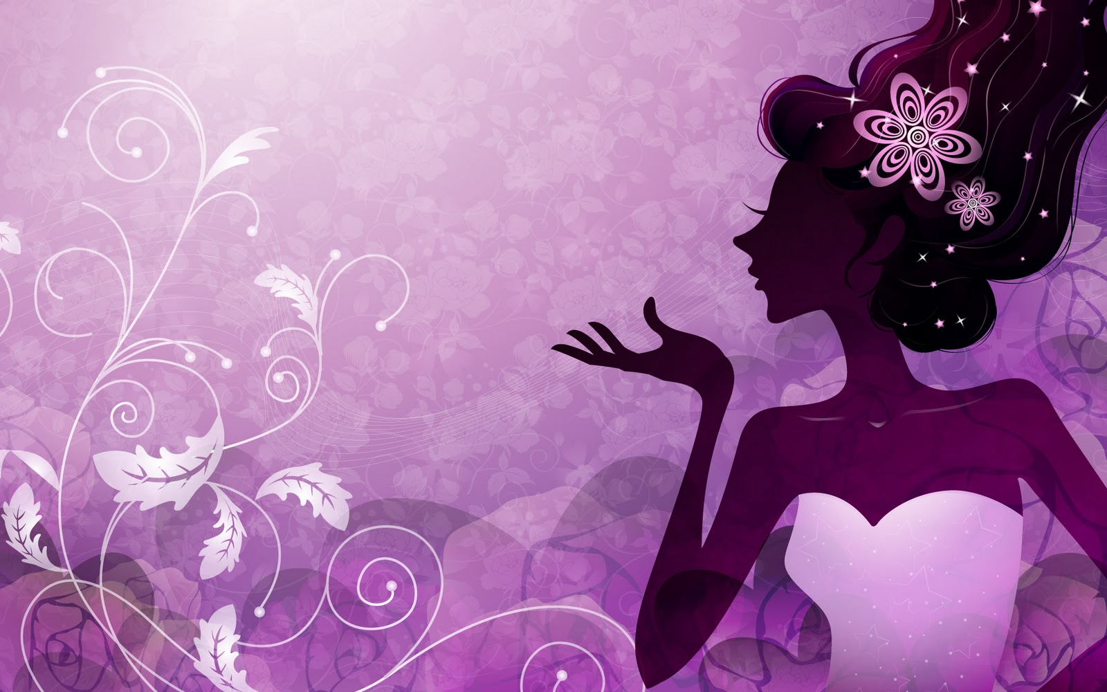 Purple Backgrounds Cute Purple Wallpapers Latest Purple Wallpapers 1600x1000