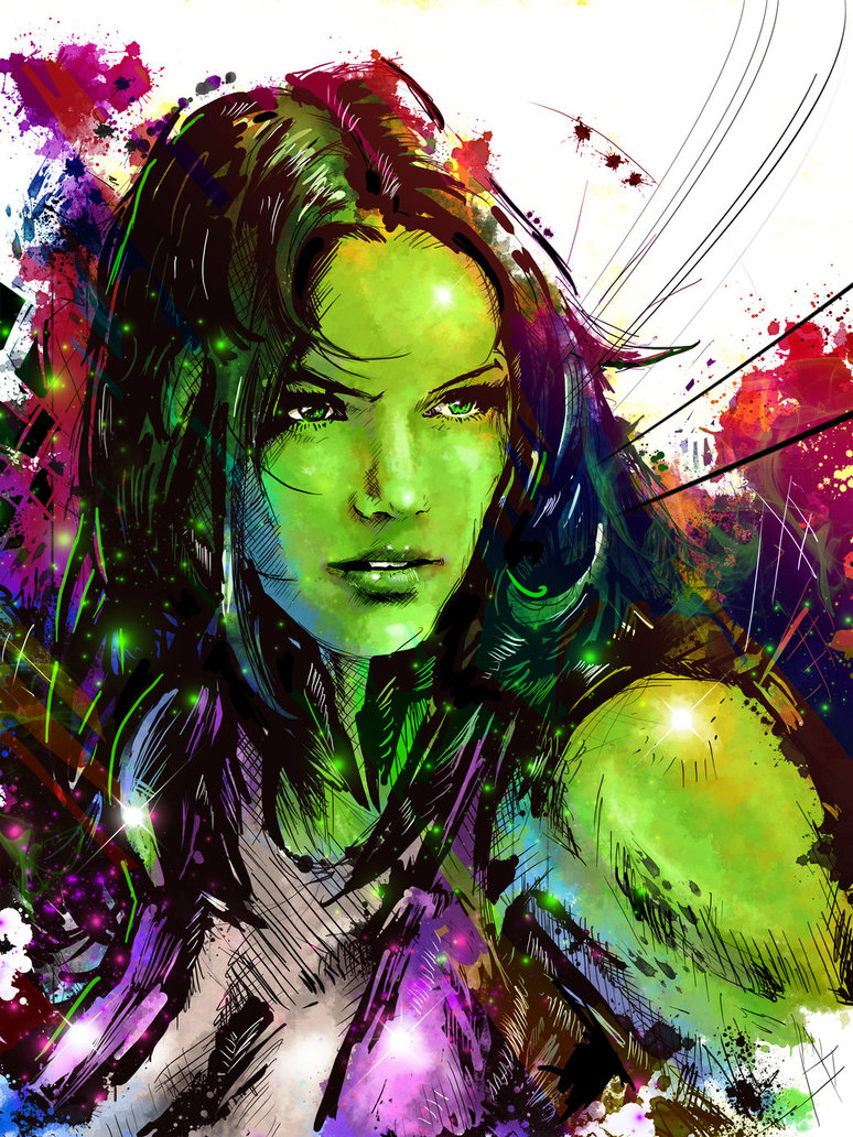 She Hulk by VVernacatola 774x1032