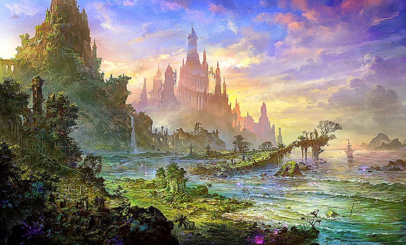 Stunning Hd Fantasy Wallpapers: [50+] Fantasy Landscapes Wallpapers On WallpaperSafari