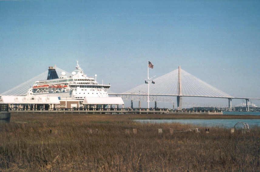 Charleston SC Cruise Port 857x566