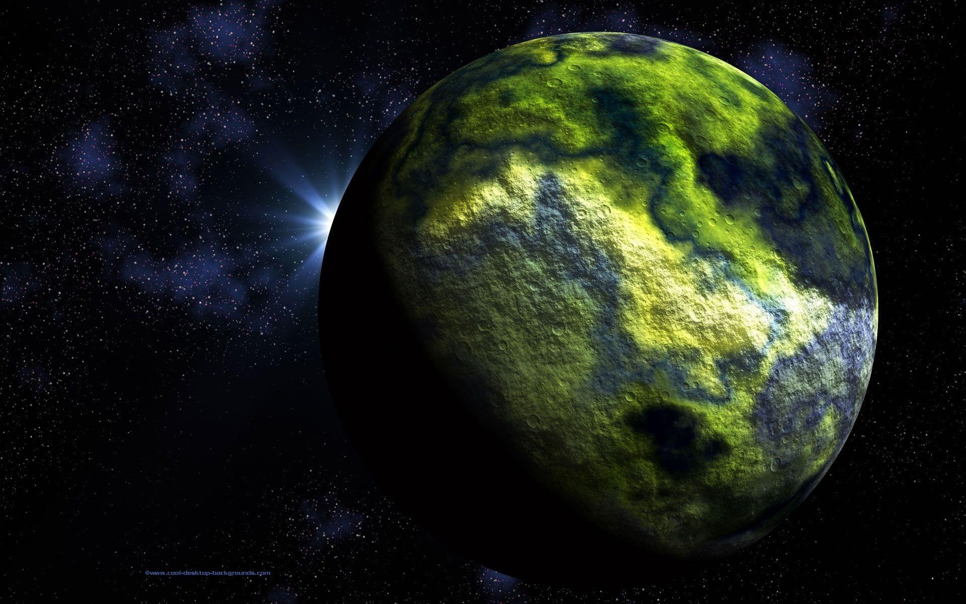 Cool Planet Backgrounds 1920x1200