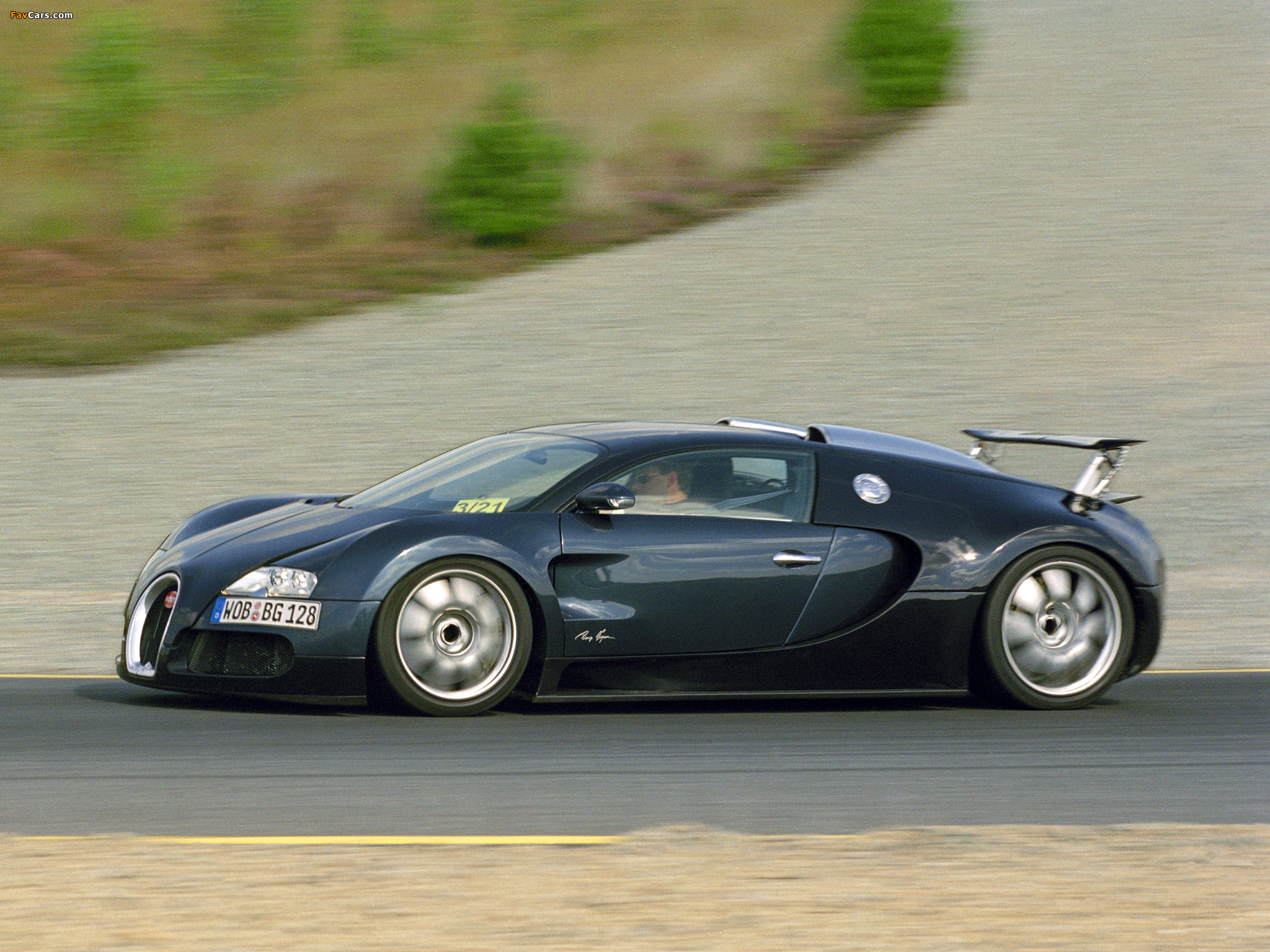Wallpapers of Bugatti EB 164 Veyron Prototype 2004 2048x1536