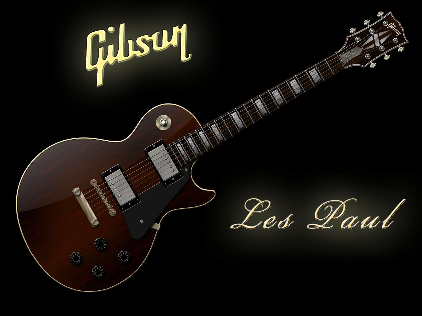 Gibson Guitar Wallpaper HD
