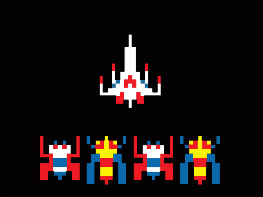 Retro Galaga wallpapers Retro Galaga stock photos 1024x768