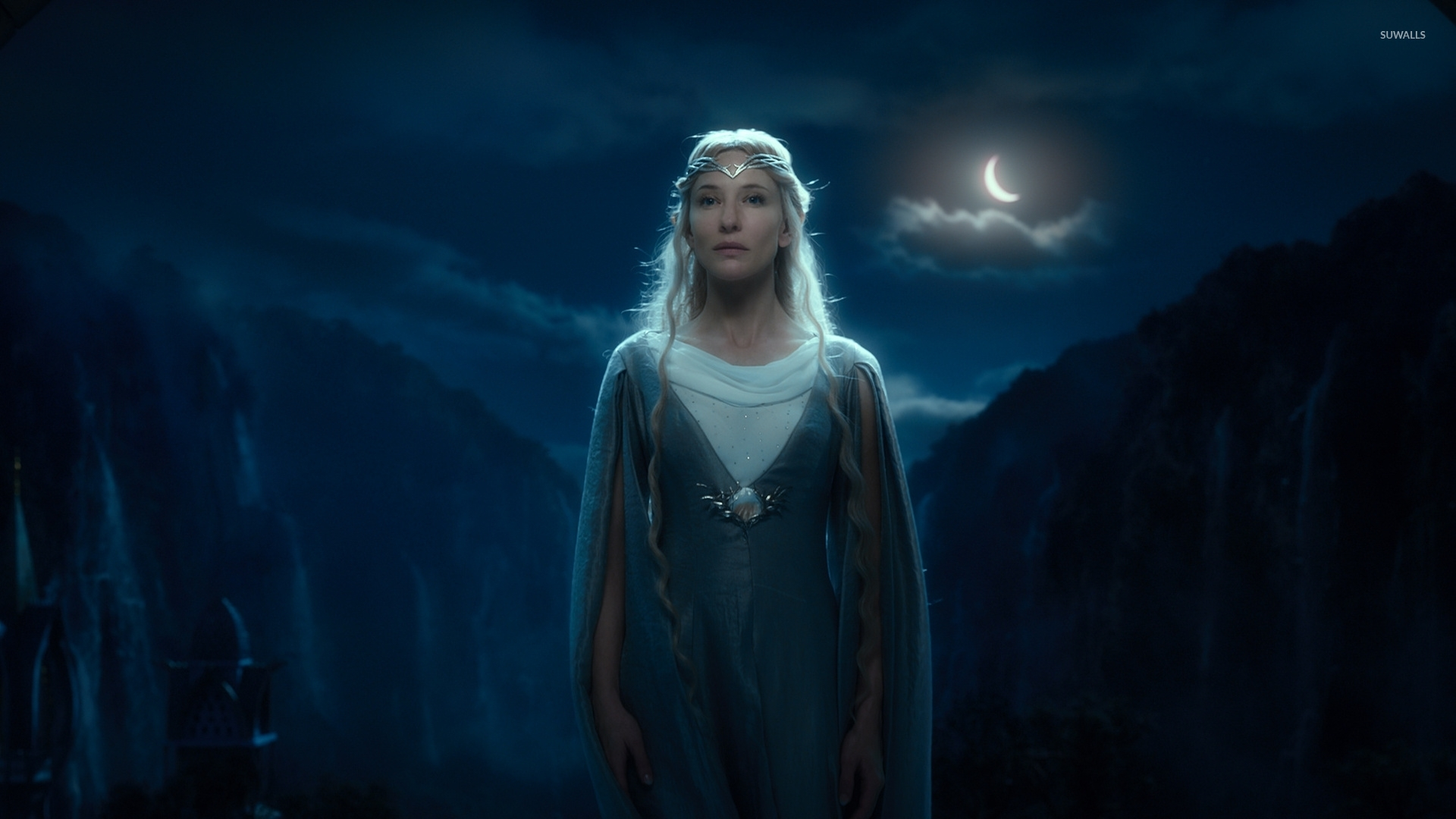 Galadriel in The Hobbit An Unexpected Journey wallpaper   Movie 1920x1080