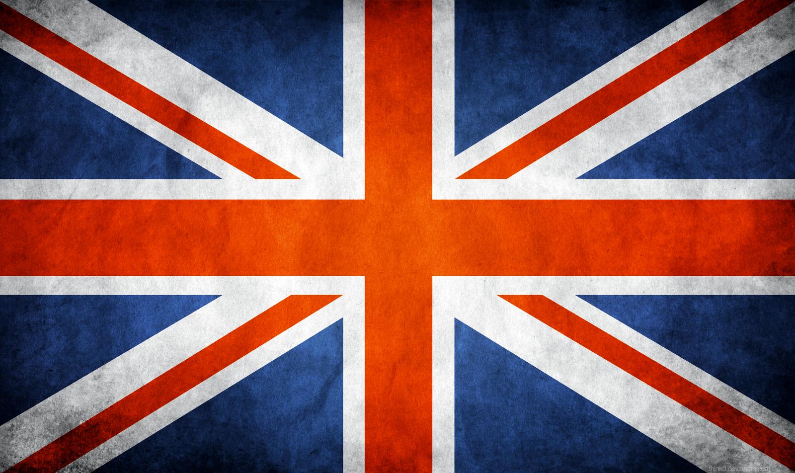 wallpaper hdtv widescreen great britain united kingdom grunge flag 1600x952
