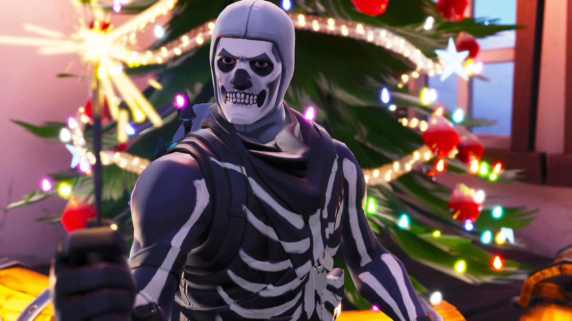 Skull Trooper Wallpaper Season 7   Fortnite Battle Royale Wallpaper 1920x1080