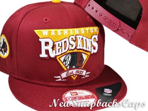 Washington Redskins Snapback NFL Hats New Era 9fifty Caps Mens 600x450