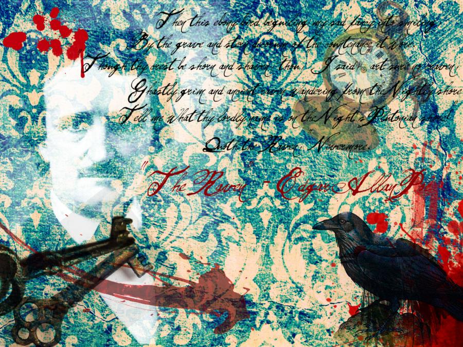 El Espejo Gtico Edgar Allan Poe wallpapers fondos 900x675