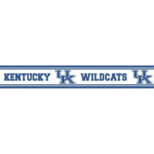 KENT Kentucky Wildcats Peel and Stick Wallpaper Border   Walmartcom 500x500