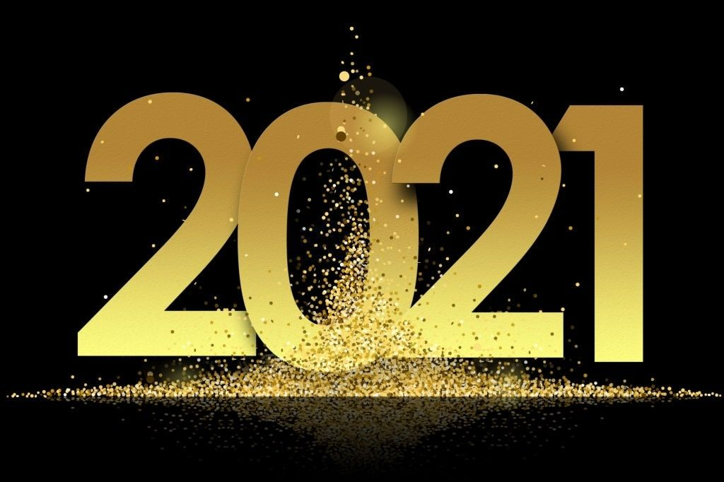 Unique Happy New Year Wallpaper 2021 in 2020 Happy new year 1024x682