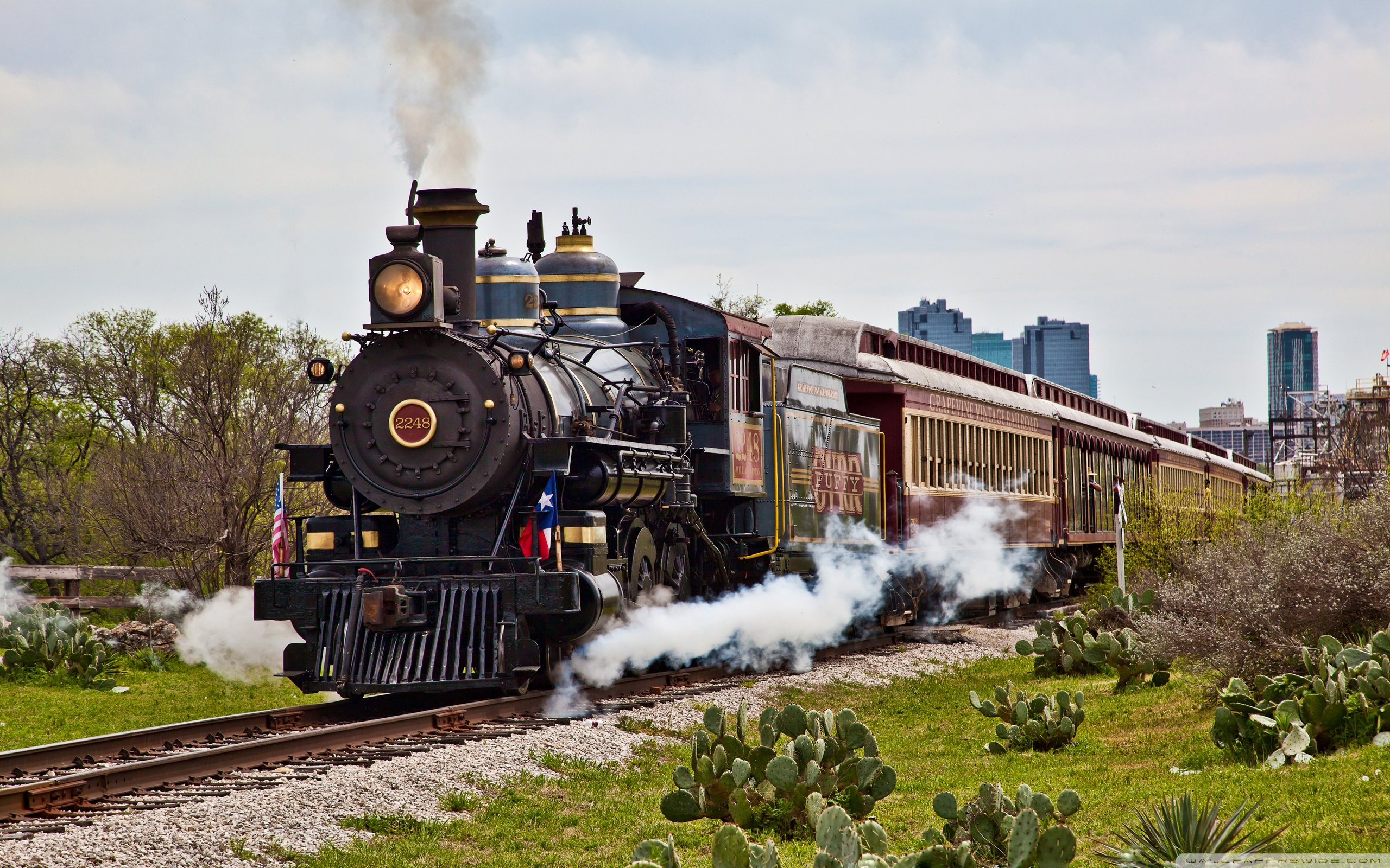 Steam Train Wallpapers and Background Images   stmednet 2560x1600