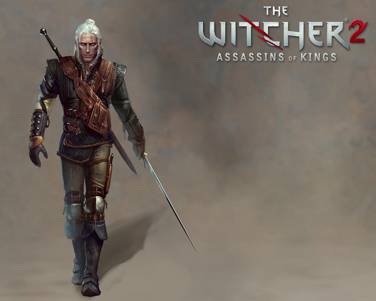 Image The Witcher The Witcher 2 Assassins of Kings Geralt of Rivia 1280x1024