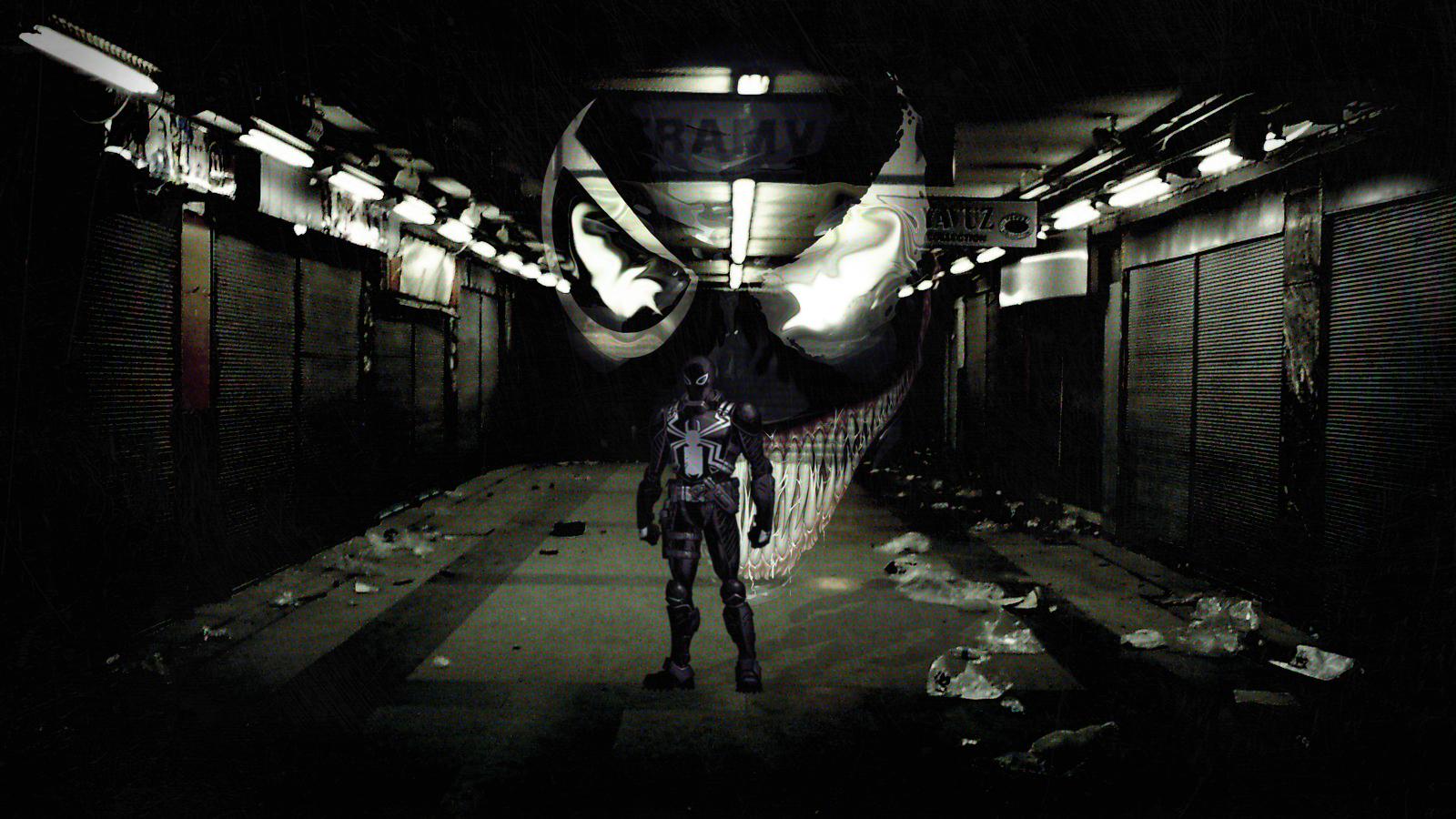 Agent Venom Wallpaper Venom flash thompson 1600x900