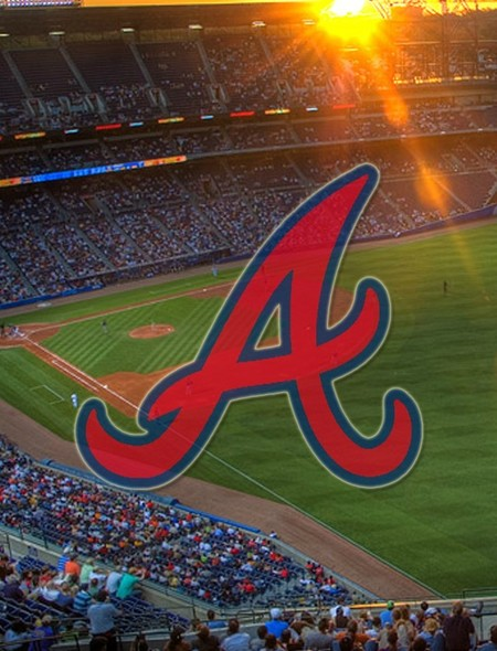 Atlanta Braves Outfield Wallpaper for Dell Flash 450x590