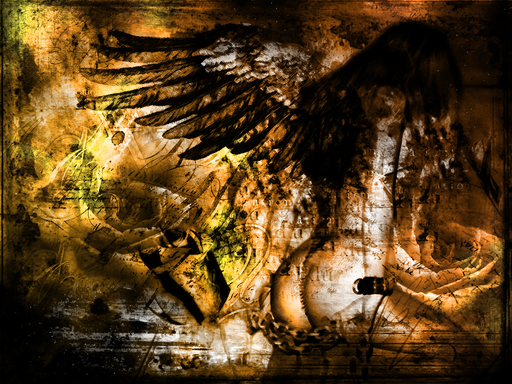 Fallen Angel wallpaper from Angels wallpapers 1024x768