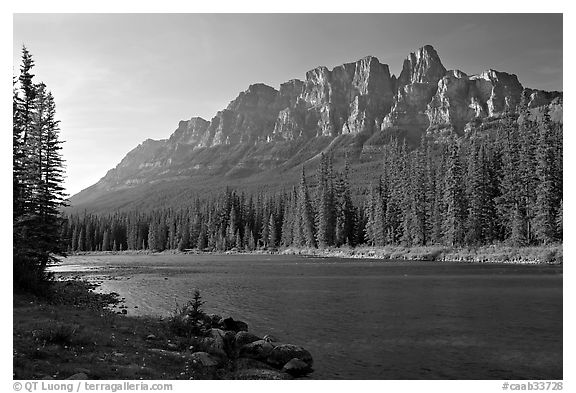 bow river castle mountain canada wallpapers   DriverLayer Search 576x393