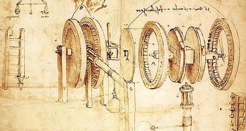 Renaissance Inventions Leonardo Da Vinci Renaissance inventions clock 500x267