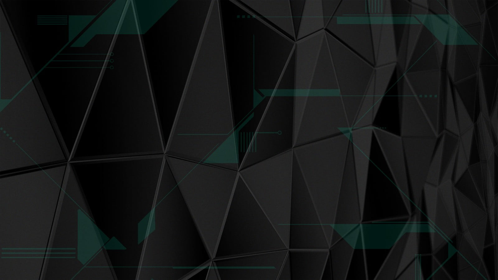 Geodesic digital wallpaper geometry triangle HD wallpaper 1600x900