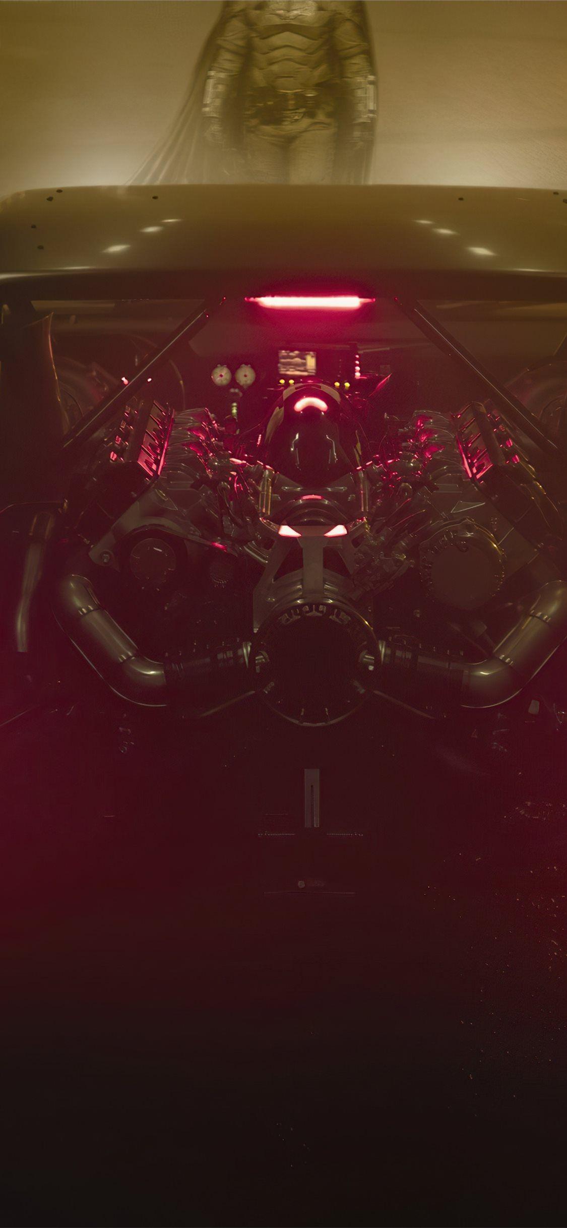 batmobile rear Robert Pattison batman 2021 Movies movies 4k 1125x2436