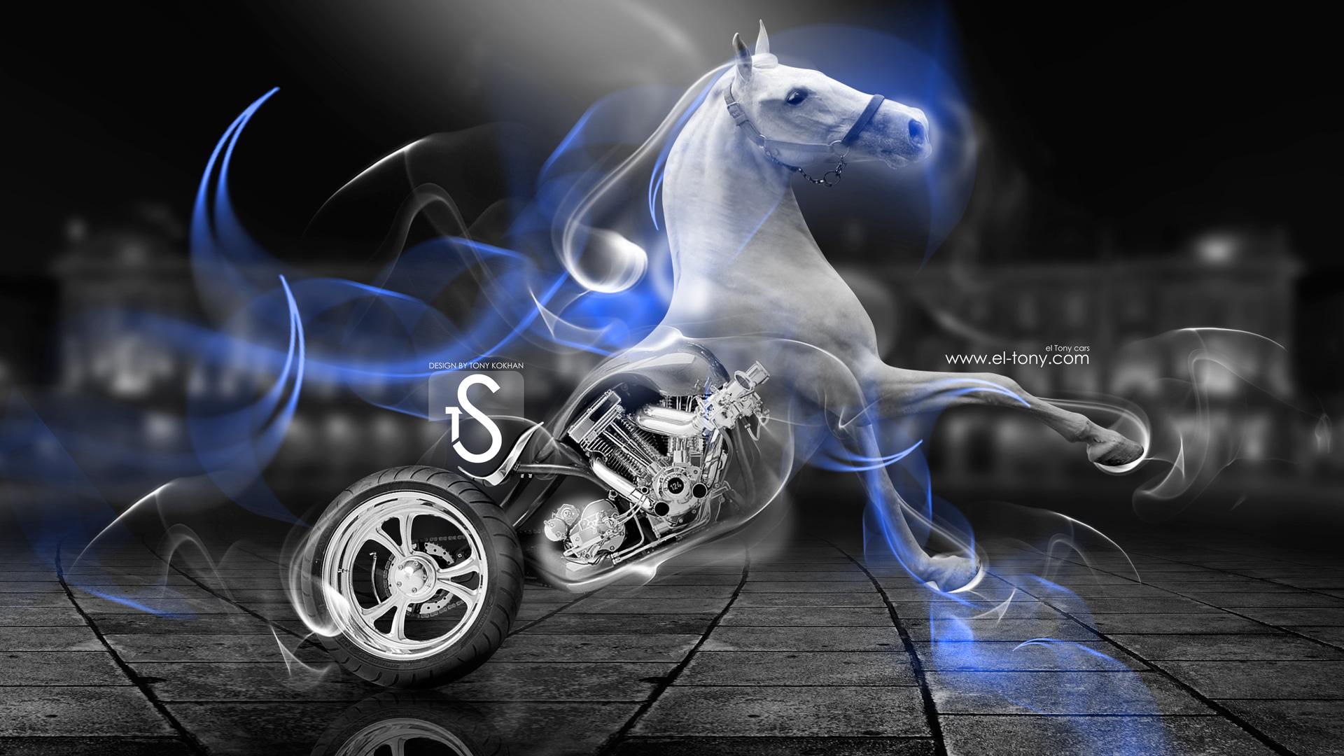 Fire Moto Horse 2014 Hd Wallpapers Design By Tony Kokhan El Tony 1920x1080