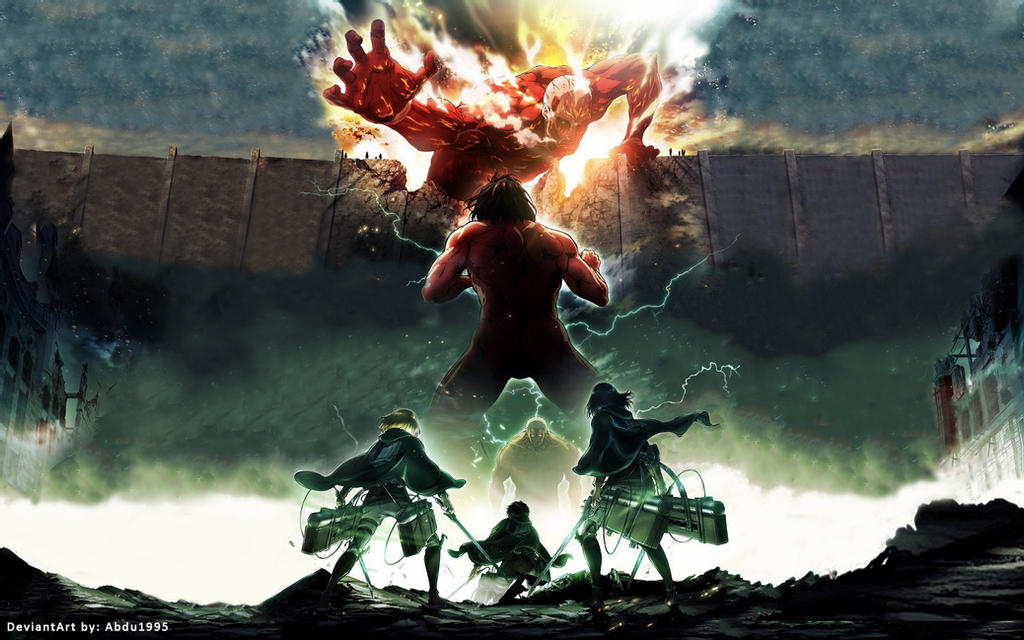 Attack on Titans   Season 2 Anime HD Wallpaper by Abdu1995 on 1024x640