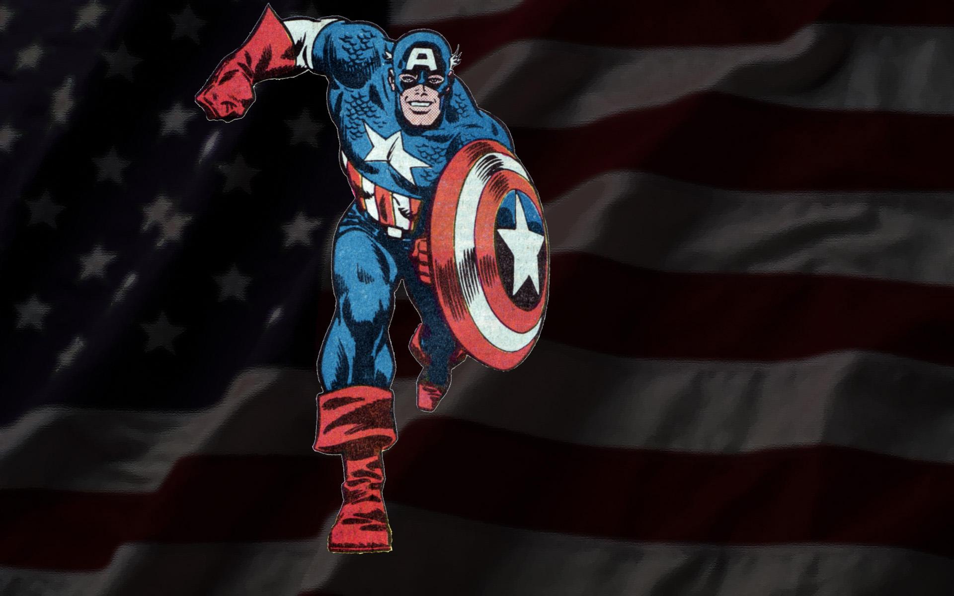 Captain America wallpaper the Hobbit Hole 1920x1200