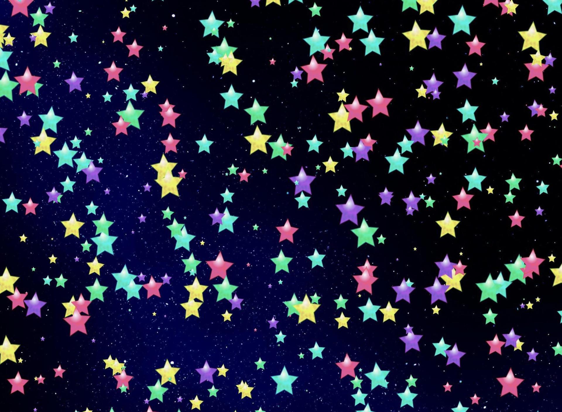 Colorful star wallpaper wallpapersafari for Star wallpaper