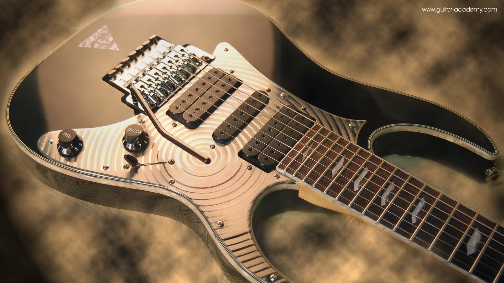Guitar wallpaper Ibanez Universe 7 string guitar body custom 1920x1080