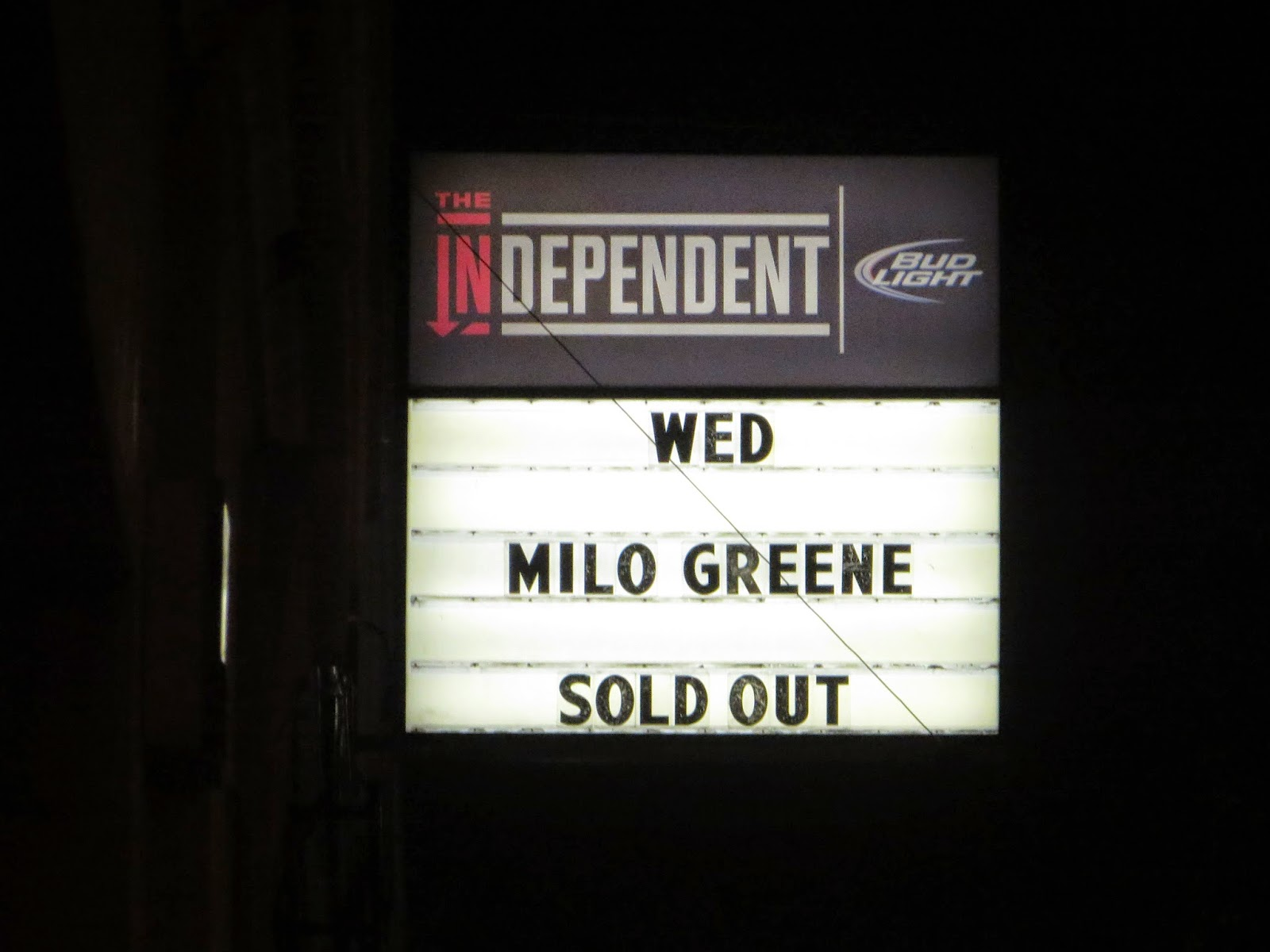 Indie Obsessive Milo Greene and Zella Day at The Independent in 1600x1200
