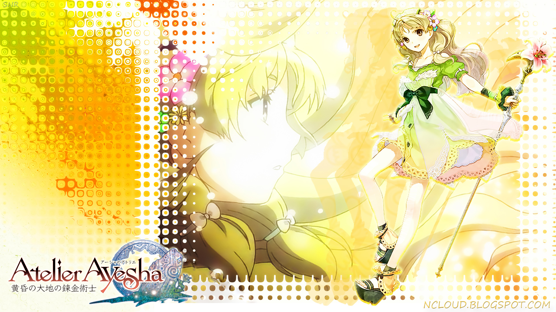 Games Movies Music Anime My Atelier Ayesha Wallpaper 2 1920x1080