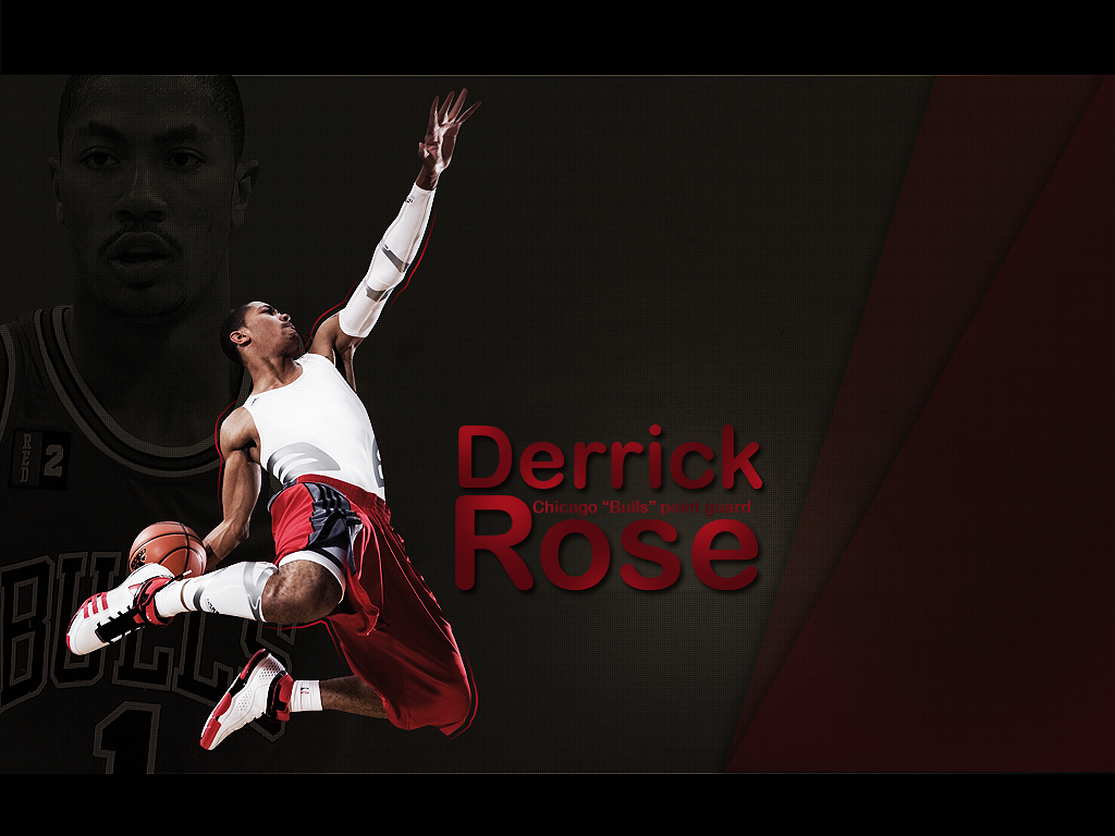 Wide Derrick Rose Basketball 2013 Wallpaper HD 3697 Hd Wallpapers 1024x768