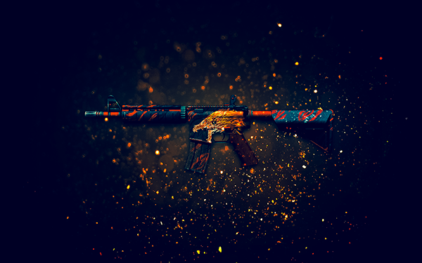Glock Water Elemental M4a4 Howl P2000 HD Walls Find Wallpapers 600x375