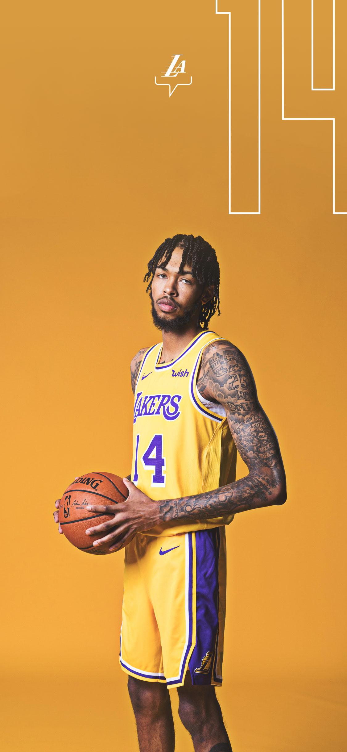 Brandon Ingram Los Angeles Lakers 1125x2436