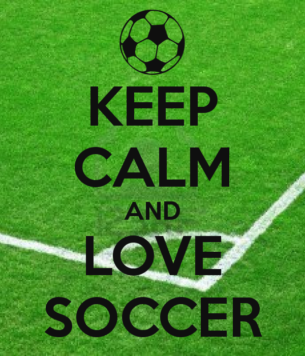 I Love Soccer Wallpaper