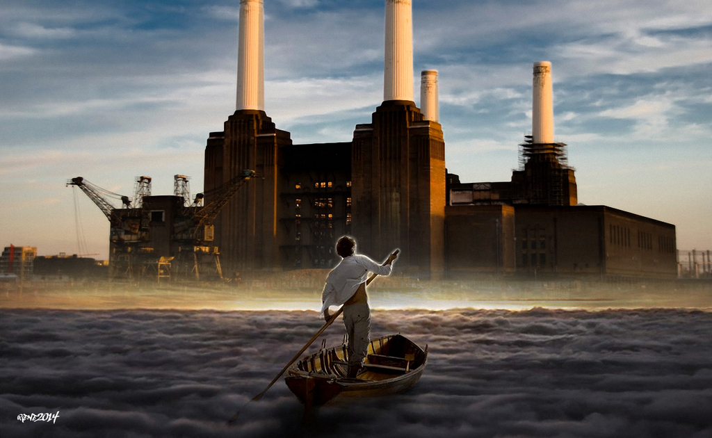 The Endless River   Pink Floyd Animals Real by elclon 1024x630