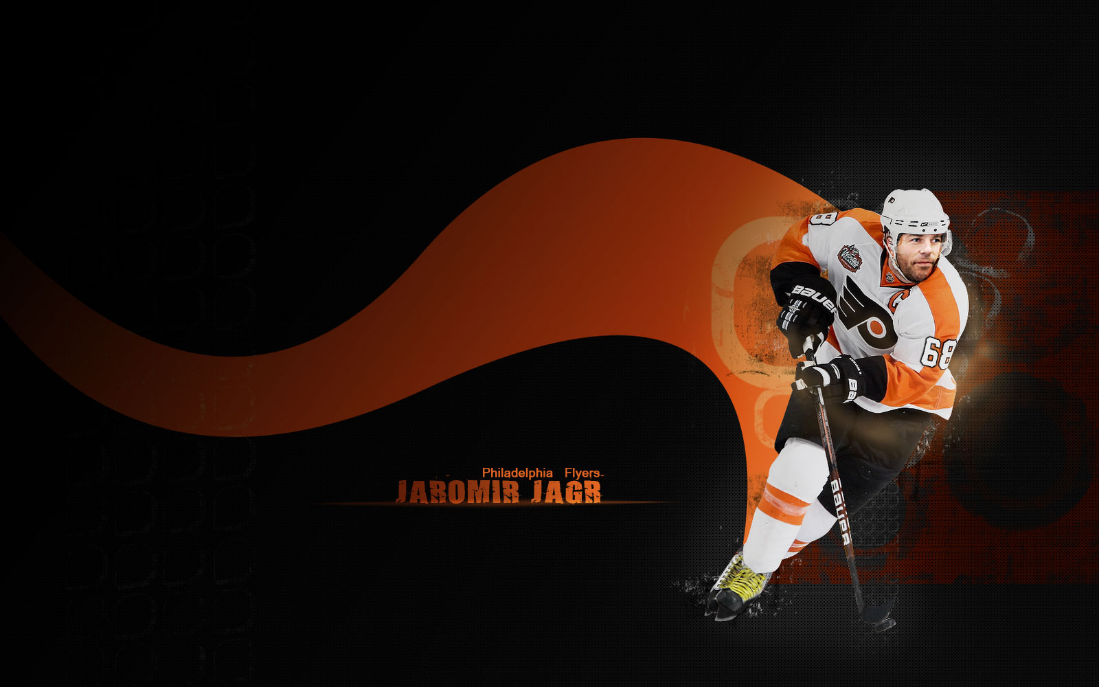 NHL Wallpapers   Jaromir Jagr Philadelphia Flyers 1600x1000 wallpaper 1600x1000