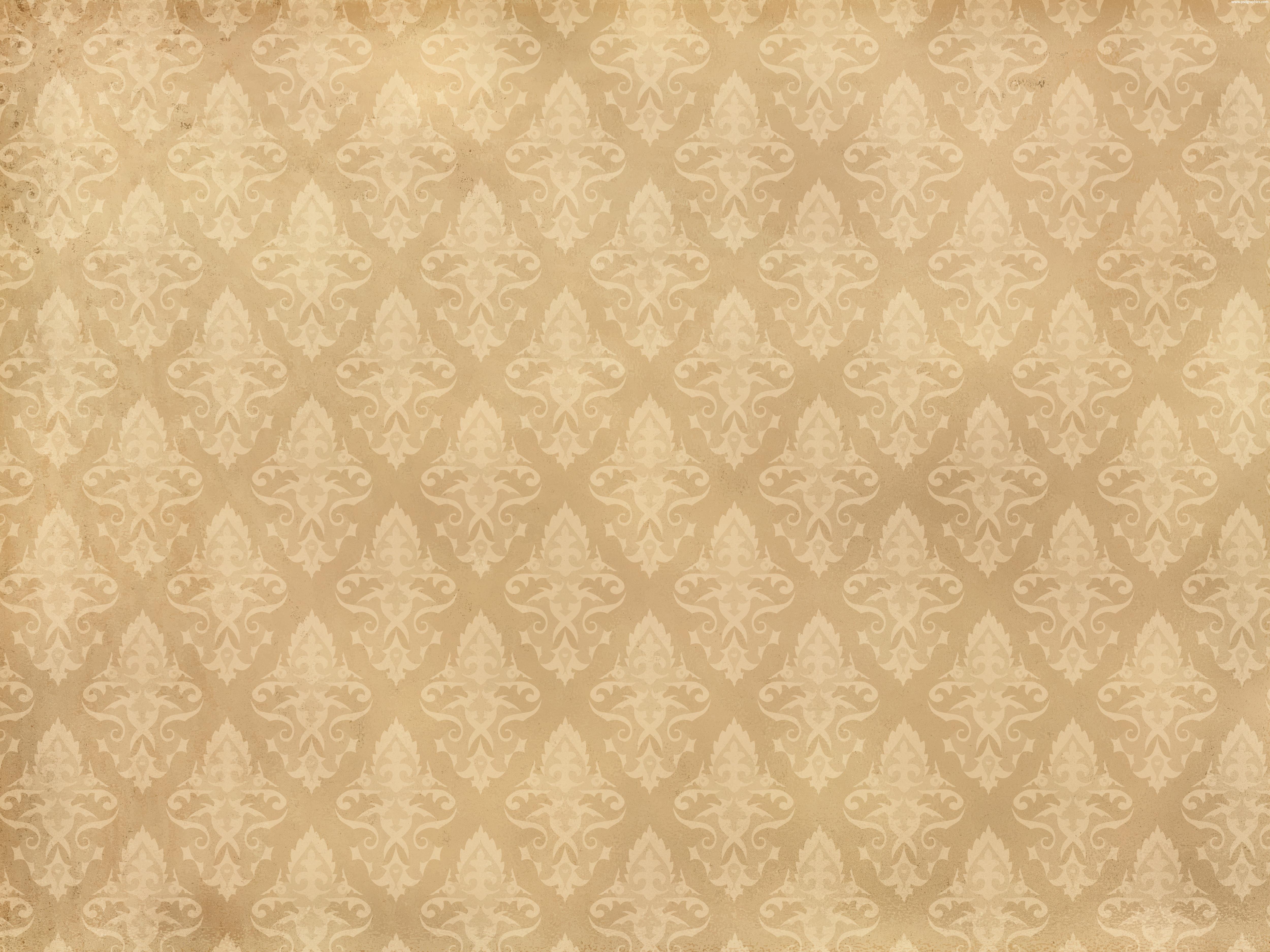 brown antique background antique halftone pattern light brown floral 5000x3750