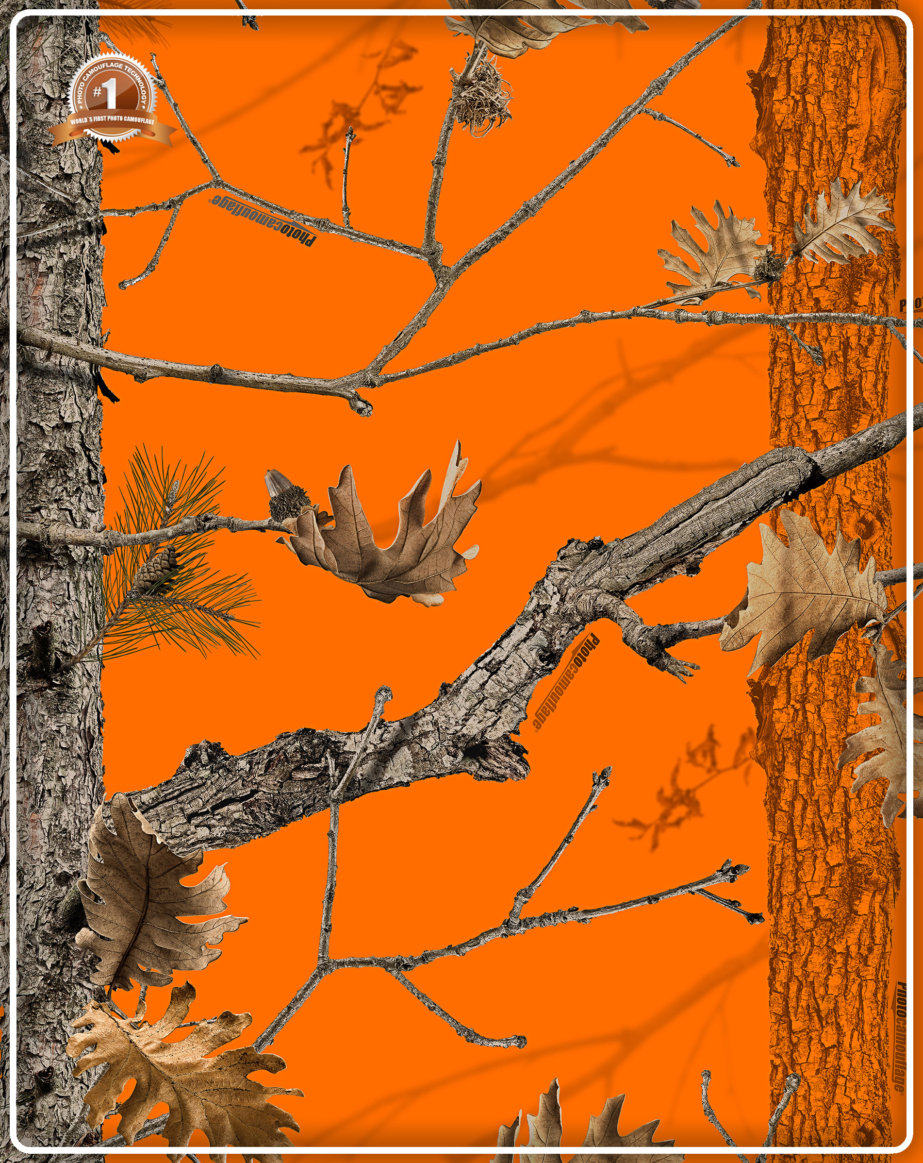 Orange Camouflage Background Photo camouflage patterns 1902x2395