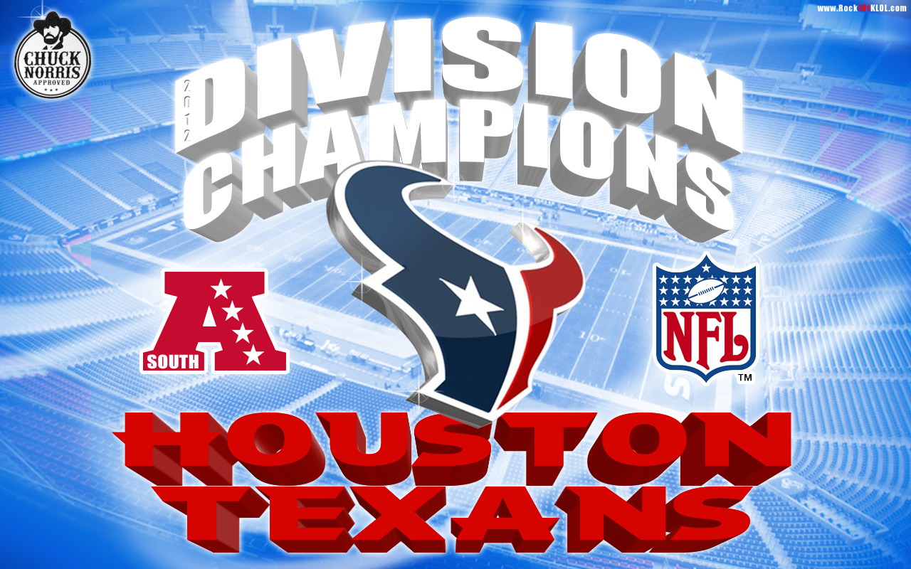 AFC South Division Champion Wallpaper   Houston Texans Message Boards 1280x800