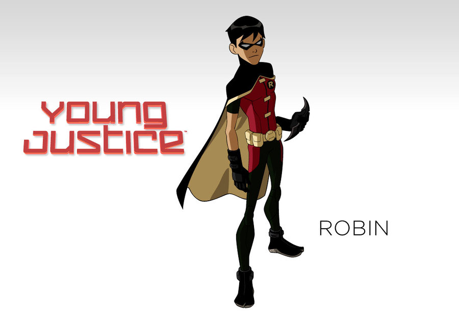 Robin Young Justice Wallpaper Dc   young justice   wallpaper 900x634